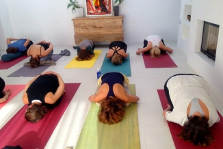 Yoga Practice at the Finca
