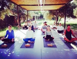 Verina Yoga class Mama Club